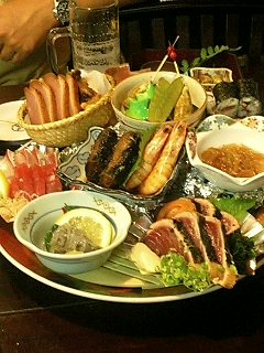 皿鉢料理♪